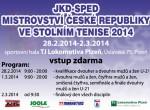 JKD-SPED Mistrovství ČR mužů a žen 2014