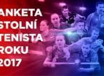 Anketa stolní tenista roku 2017