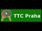 TTC Praha - klub stolního tenisu, logo